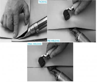 Cum se sudeaza membrana PVC /TPO