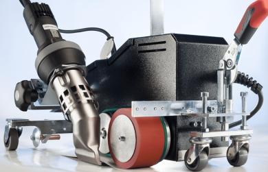 Masini automate de sudura cu aer cald - Roboti prelate si PVC